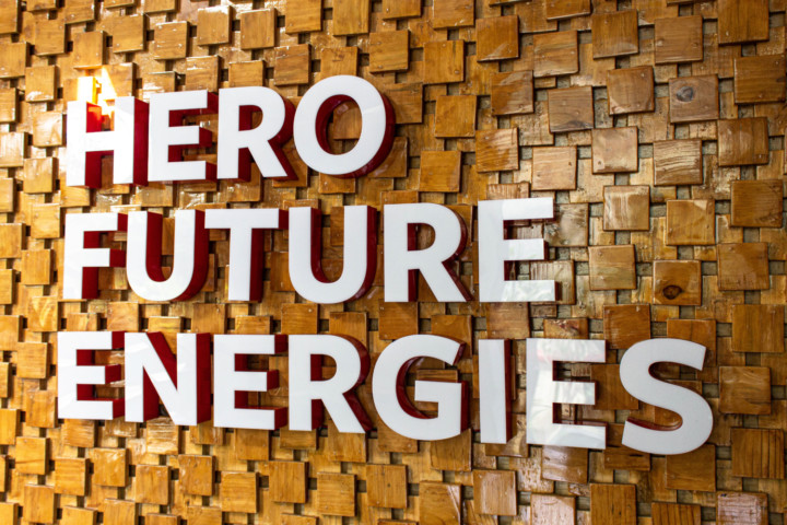 Environmental Graphics for Hero Future Energies Offices